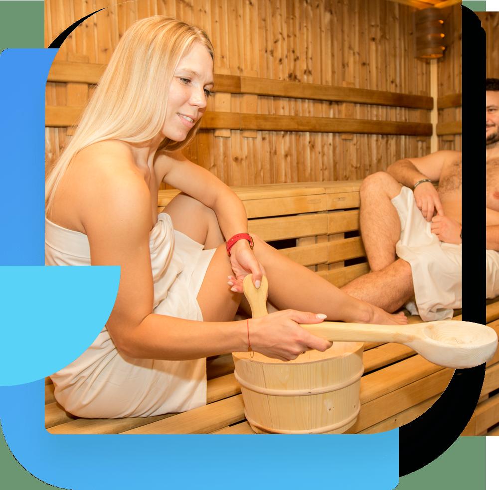 Regeneračné centrum Linea PIEŠŤANY - sauna